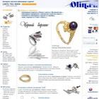 Ювелирные изделия в интернет-магазине Olin.ru: ювелирные украшения с бриллиантами, золото и серебро, обручальные кольца.